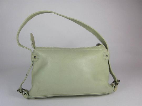 Marc Jacobs Leather Logo Evening Mint Shoulder Bag