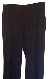 CAbi Super Flare Pants Charcoal black with soft rose pink lines