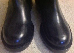 Givenchy Shark Buckle Detail Black Boots
