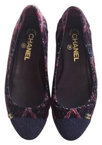 Chanel Multicolor Flats