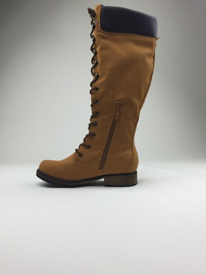 Other Footwear Winter Knee High Camel Boots