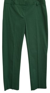 Talbots Capri/Cropped Pants Green