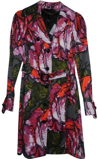 Preload https://img-static.tradesy.com/item/1484298/trina-turk-multi-color-graphic-trench-coat-size-2-xs-0-0-650-650.jpg
