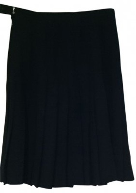 Preload https://item5.tradesy.com/images/black-1980-s-jh-collectibles-vintage-wool-classic-sm-knee-length-skirt-size-4-s-27-148434-0-0.jpg?width=400&height=650