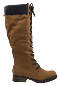 Footwear Knee High Camel Boots