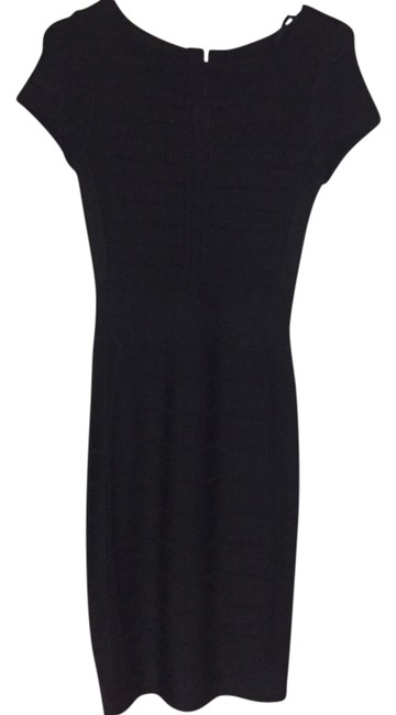 Preload https://item5.tradesy.com/images/french-connection-black-knee-length-night-out-dress-size-2-xs-14843554-0-1.jpg?width=400&height=650