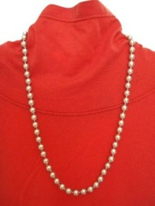 Monet Gray Faux Pearl Necklace