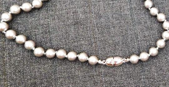 MONET Tahitian-Gray Faux Pearl Necklace