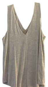 Bordeaux Swing Knit Soft Jersey Top Grey