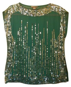 H&M Top Emerald