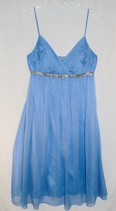 JS Boutique Light Blue Chiffon Dress