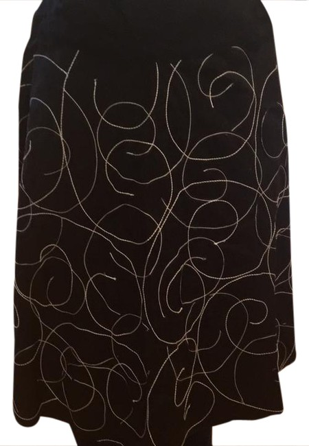Sunny Leigh Swirl Small Skirt black