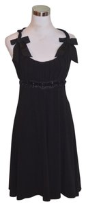Blumarine short dress Black Silk Knit on Tradesy
