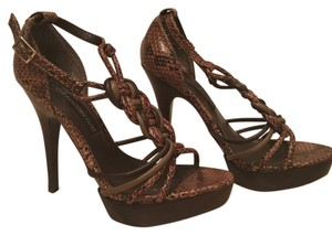 Steve Madden Brown Platforms