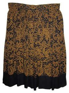 Emanuel Ungaro Skirt Black and Brown