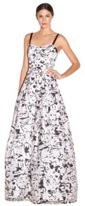 MILLY Surrealist Ava Coupe Gown Dress