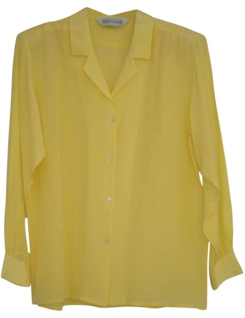 Preload https://img-static.tradesy.com/item/148445/nordstrom-yellow-blouse-size-8-m-0-0-650-650.jpg