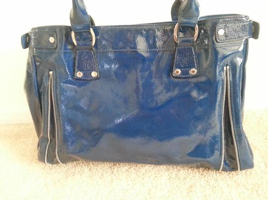 Longchamp Patent Leather Light Weight Made In France Shoulder Bag