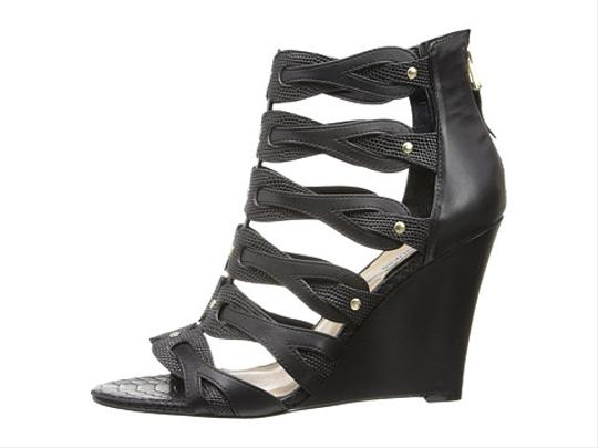 Guess Woman Black Wedges
