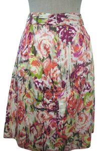 Liz Claiborne Full Skirt Multi-color