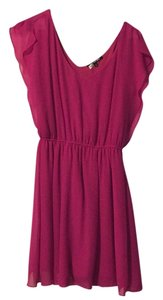 Gianni Bini short dress Pink on Tradesy