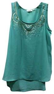 Blu Pepper Top mint green
