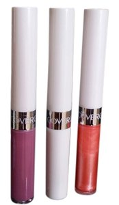 COVERGIRL 2 New Outlast All Day Lipcolor 24 hour and 1 Tube Moisturizing Topcoat