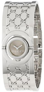 "Gucci Gucci Women's Watch - Stainless Steel ""GG"" - Twirl"