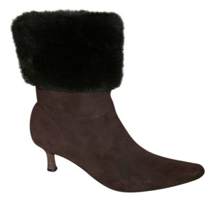 J. Renee Dark Brown Boots