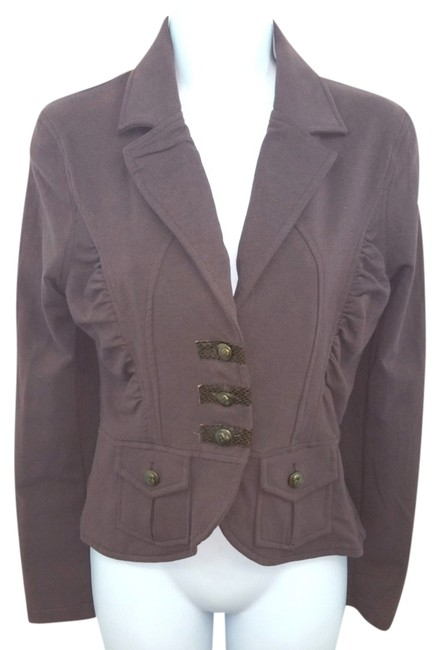 Preload https://item2.tradesy.com/images/cropped-brown-jacket-s-blazer-size-4-s-14845786-0-2.jpg?width=400&height=650
