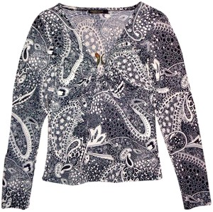 Roberto Cavalli Top Black, White
