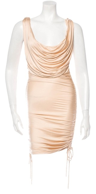 Preload https://item5.tradesy.com/images/roberto-cavalli-beige-sleeveless-short-night-out-dress-size-0-xs-14846179-0-1.jpg?width=400&height=650