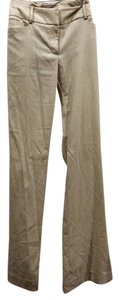 New York & Company Straight Pants cream