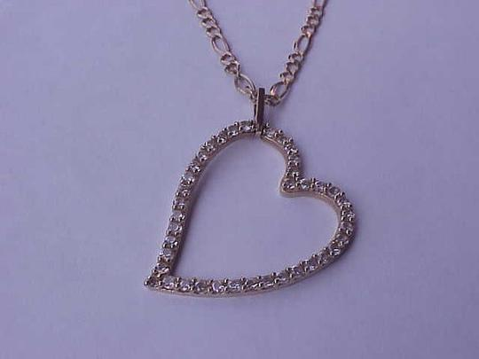 Other Estate 10k Yellow Gold Antique 2.50cttw Cubic Zirconia Pendant, 1950s