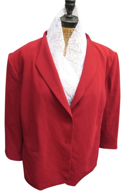 Preload https://img-static.tradesy.com/item/14846497/talbots-red-plus-size-petite-blazer-size-24-plus-2x-0-1-650-650.jpg