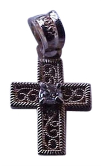 Preload https://item3.tradesy.com/images/antique-10k-yellow-gold-baby-s-diamond-filigree-cross-pendant-late-1800s-charm-14846512-0-1.jpg?width=440&height=440