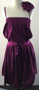Lanvin short dress Purple on Tradesy