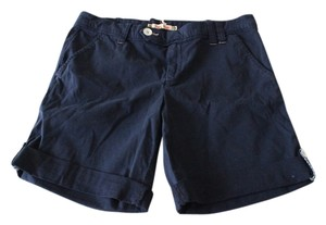 Anthropologie Hei Hei Nautical Nwt Cuffed Shorts Navy
