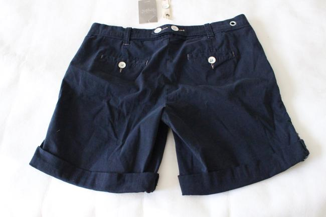 Anthropologie Hei Hei Nautical New With Tags Cuffed Shorts Navy