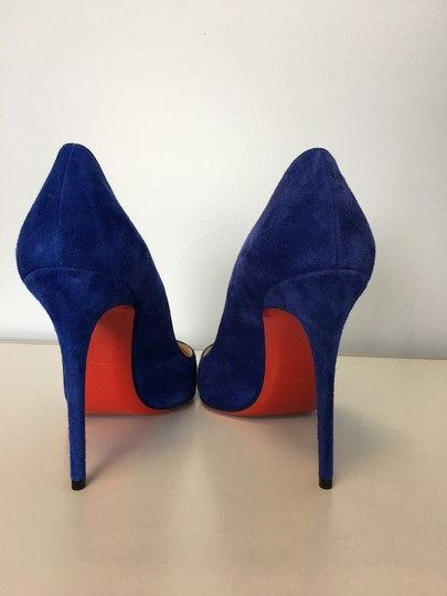 Christian Louboutin Kate Heels Blue Pumps