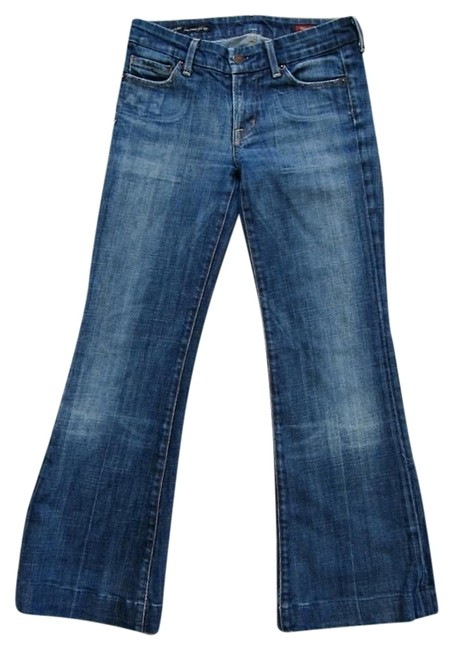 Item - Blue Medium Wash Faye Relaxed Fit Jeans Size 24 (0, XS)