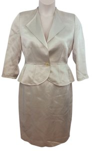 Jaeger JAEGER HAND STITCHED EDGES SKIRT SUIT US 10 EUR 40