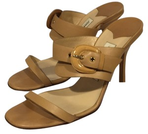 Jimmy Choo Nude Camel Sandals