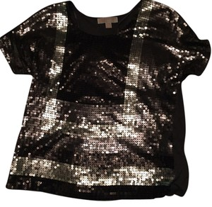 MICHAEL Michael Kors Top Black/grey/silver