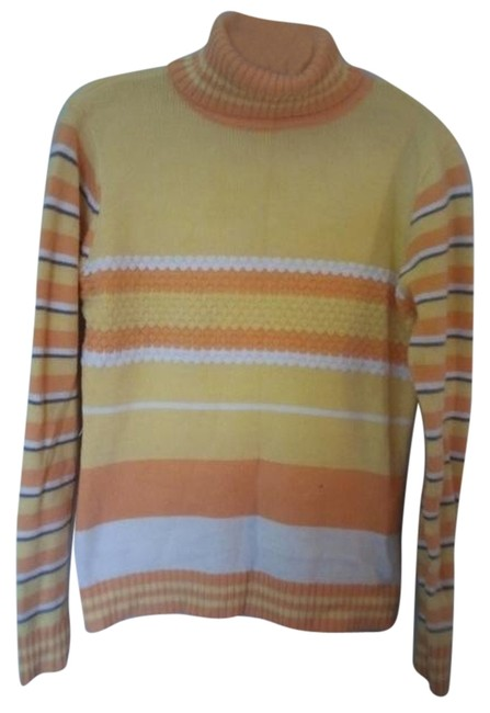 Item - Yellow Orange White Sweater