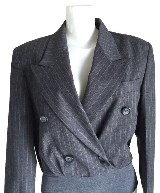 Preload https://item5.tradesy.com/images/michael-kors-gray-striped-double-breasted-women-s-casual-blazer-size-8-m-14847094-0-1.jpg?width=400&height=650