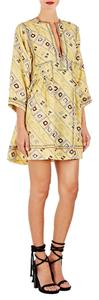 Isabel Marant short dress Yellow multi on Tradesy