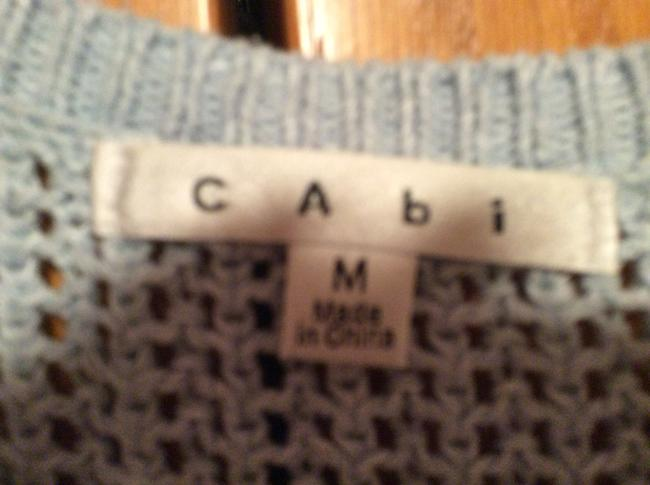 CAbi Net Sweater Vest Non-smoking Home Top Sky blue
