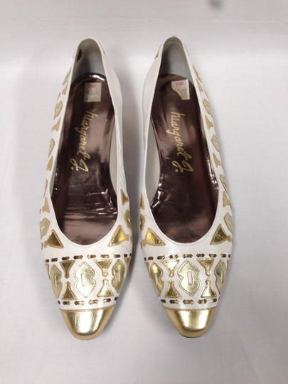 Other White/Gold Flats
