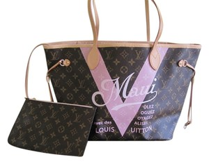 Louis Vuitton Tote in Brown/Pink